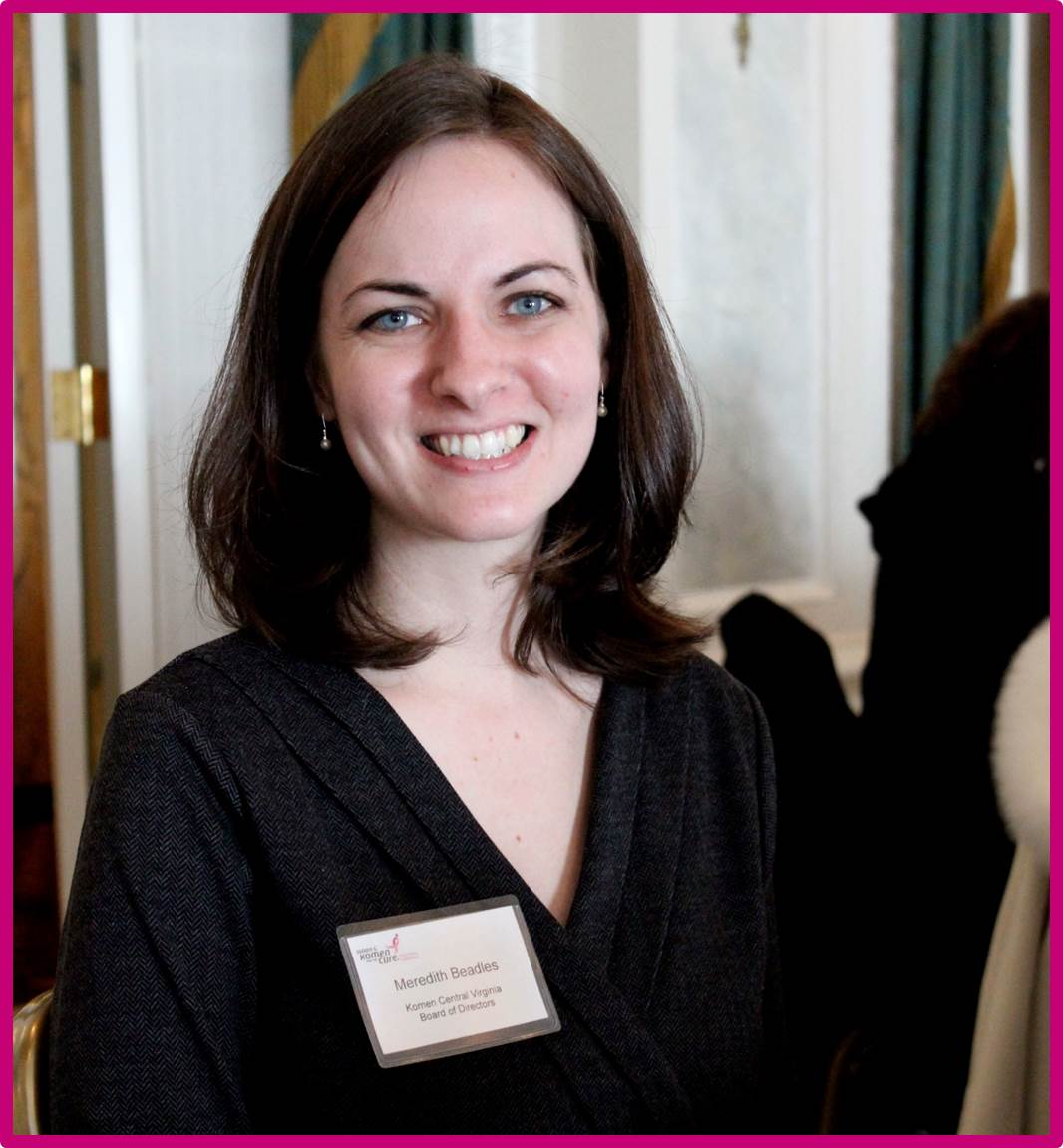 2013 April - Volunteer Spotlight - Meredith Beadles