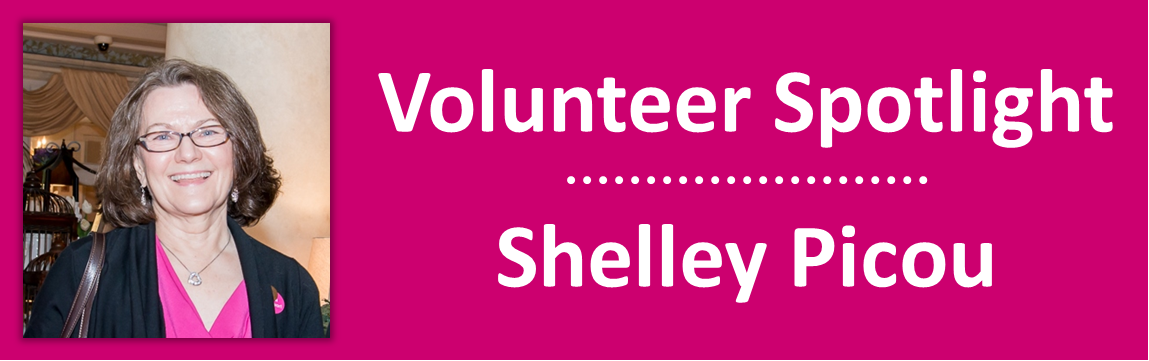 2015 April - Volunteer Spotlight - Shelley Picou
