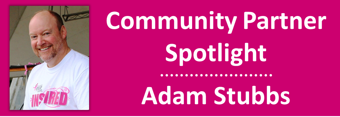 2015 August - Community Partner Spotlight - Adam Stubbs
