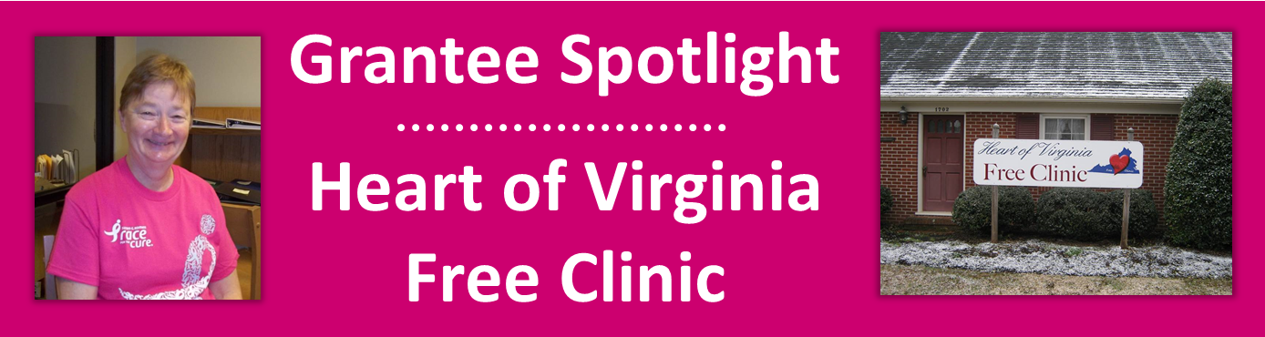 2016 November - Grantee Spotlight - Heart of Virginia Free C