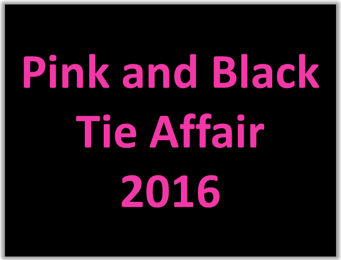 2016 Pink and Black Tie Affair for newsletter