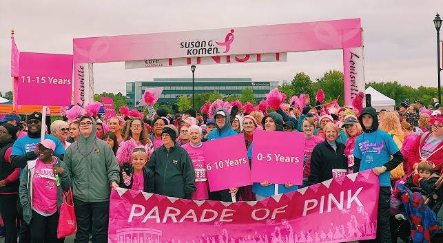 Parade of Pink