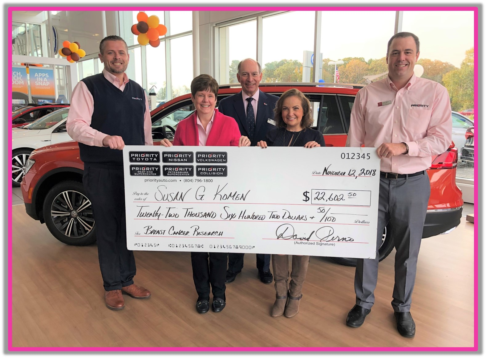2018 Priority check presentation