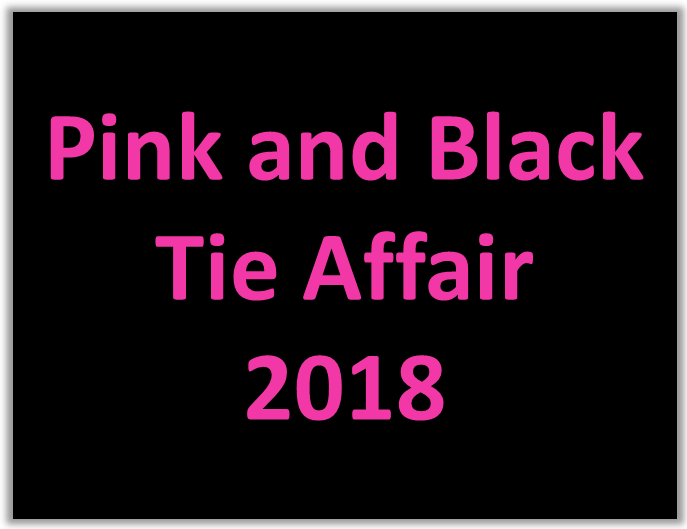 2018 pink & black tie affair