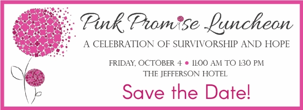 2019 Pink Promise Luncheon - save the date Richmond