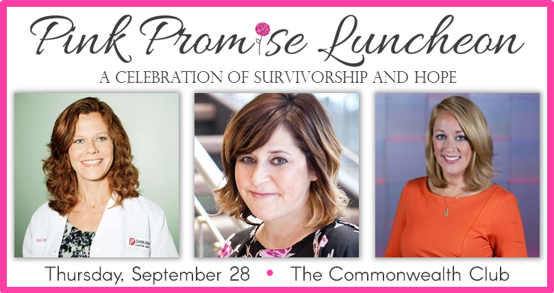 2017 Pink Promise Luncheon - 3 ladies