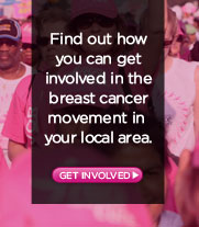 Find our how you can get involved in the breast cancer movement in your local area.