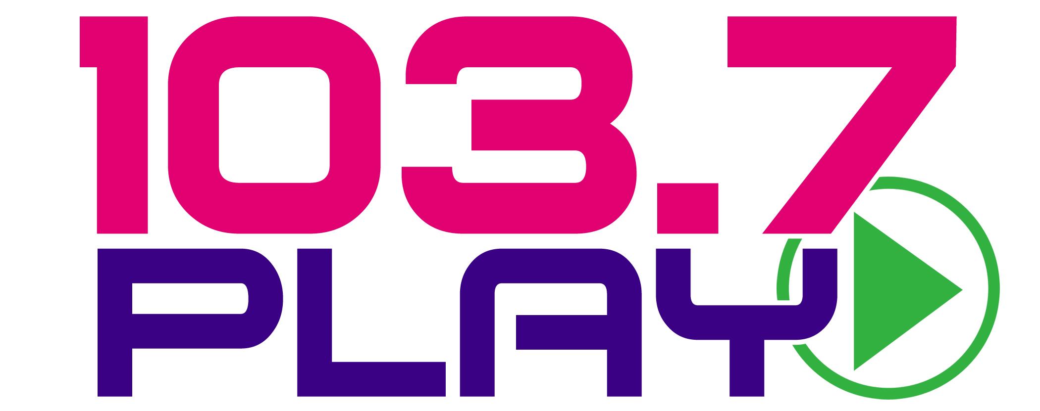 103.7 Play logo