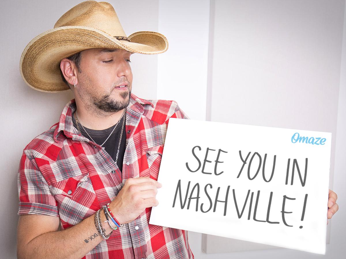 jason Aldean see you in Nashville