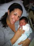 Jeannine and baby