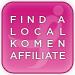 Find a Local Komen Affiliate