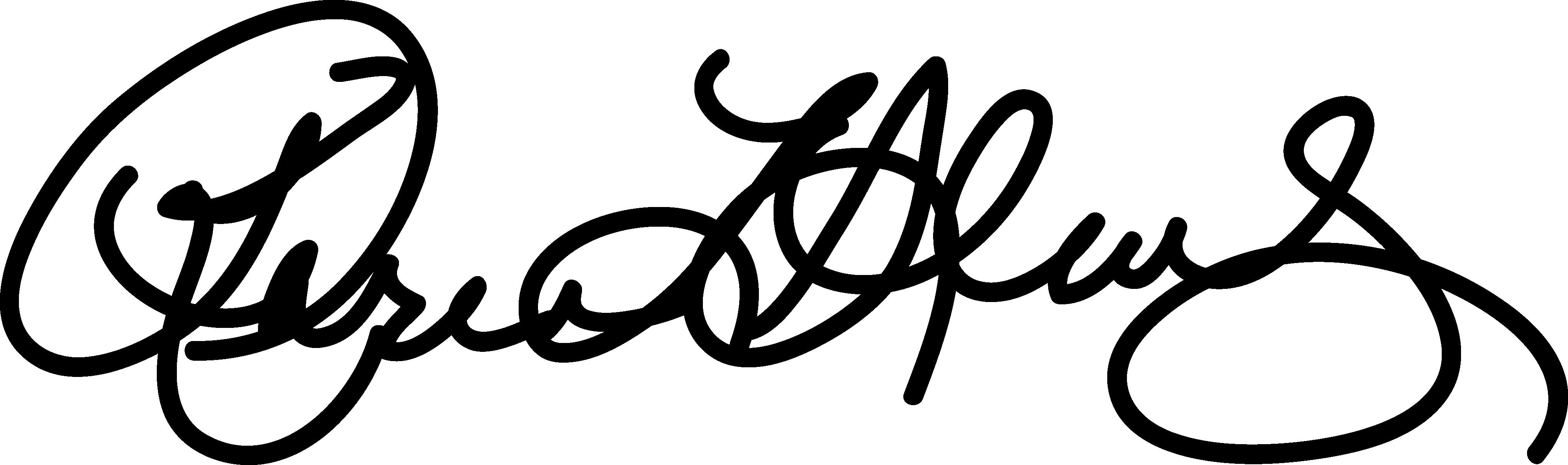 karen shultz' signature