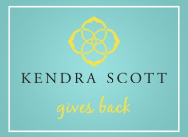 Kendra Scott gives back logo