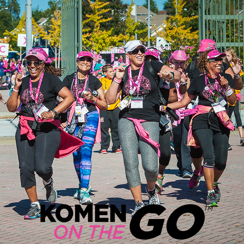 Komen On the Go