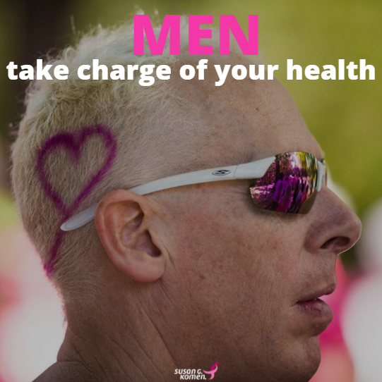 Men take charge of your health