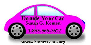 Komen Cars - 1-855-566-3622