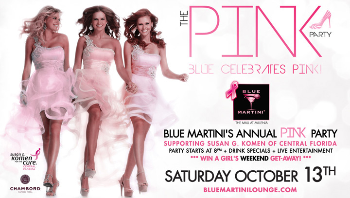 Blue Martini Party