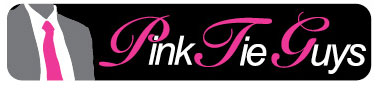 Pink Tie Guy logo (wide)