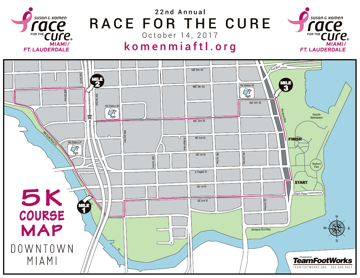 Race Course Map 2017