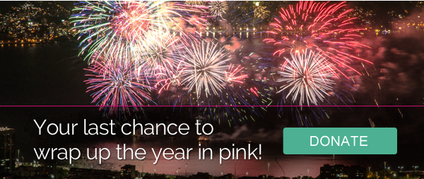 Last chance to wrap up the year in pink