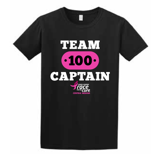 Team Captain Challenge 100 T-shirt 2019