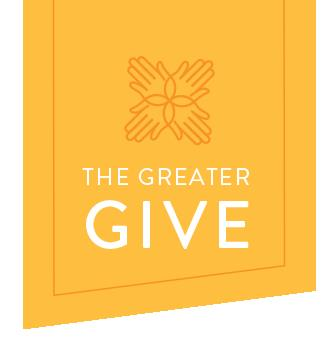 the Greater Give banner