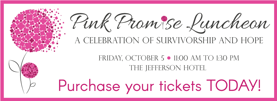 2018 Pink Promise Luncheon banner