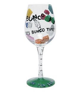 bunco, wine glass