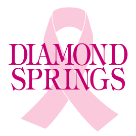 pink ribbon Diamond Springs