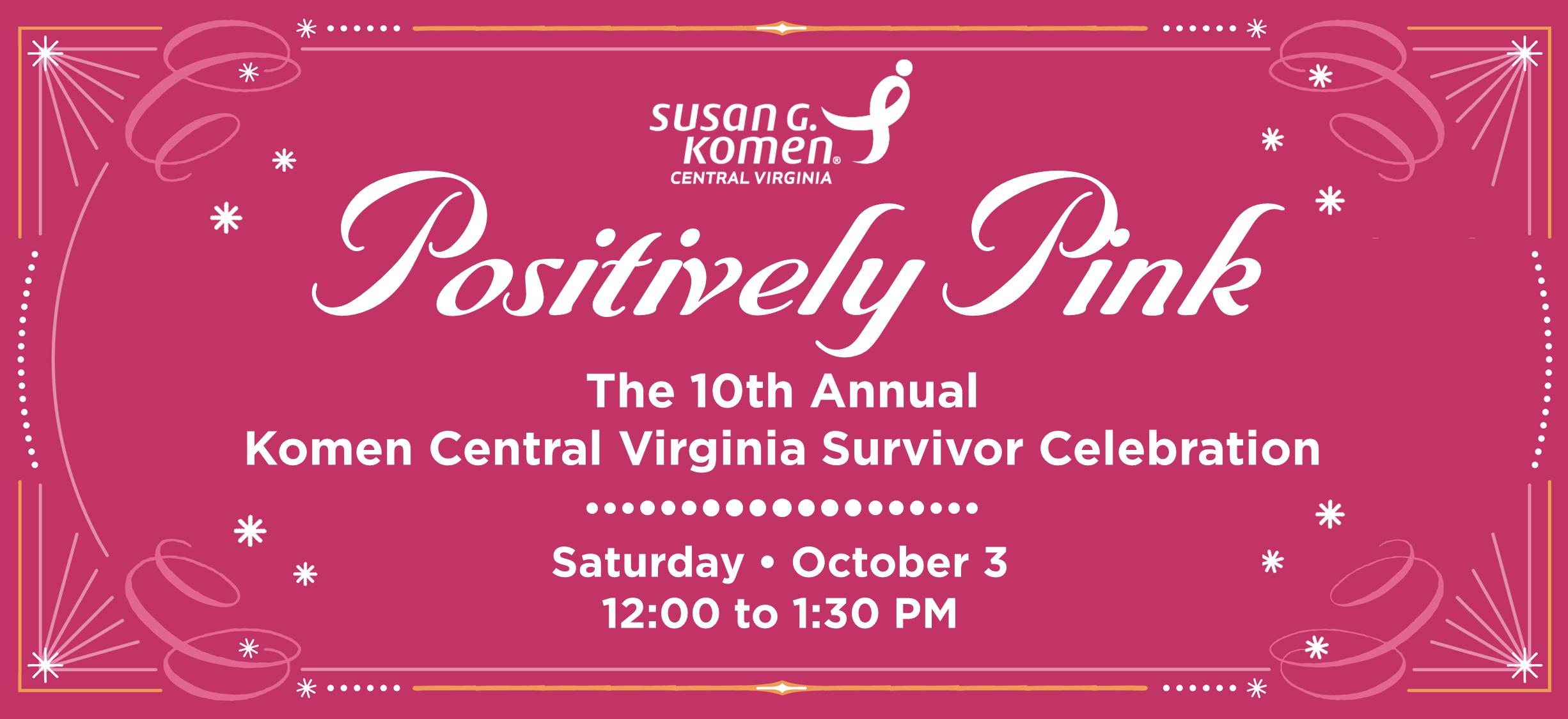 2015 Survivor Celebration banner