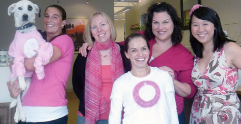 It's easy to go Passionately Pink for the Cure