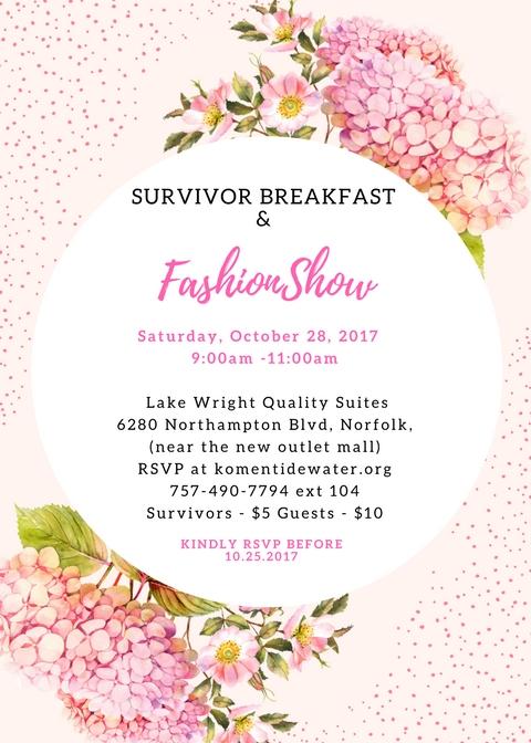 2107 survivor breakfast invitation