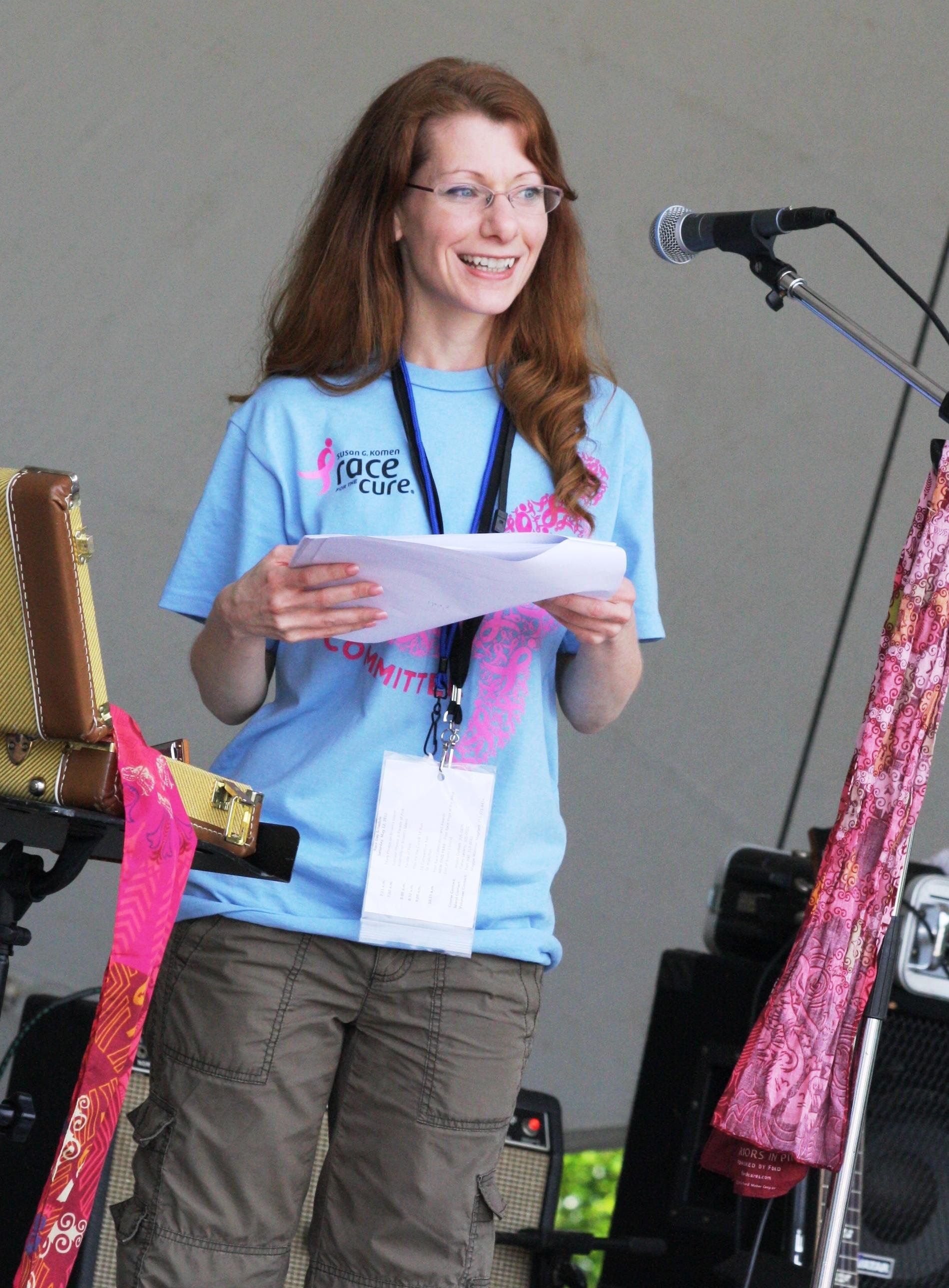 2012 July - Volunteer Spotlight - Jen Miller