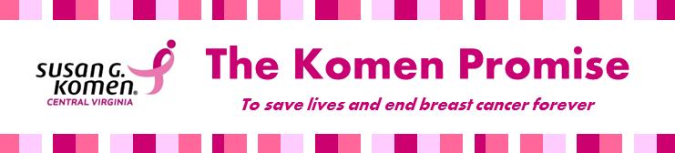 newsletter - Komen Promise banner