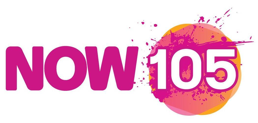 Now 105 logo