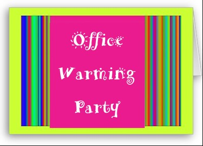 office warming party
