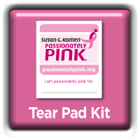 Passionately Pink : Tear Pad Kit