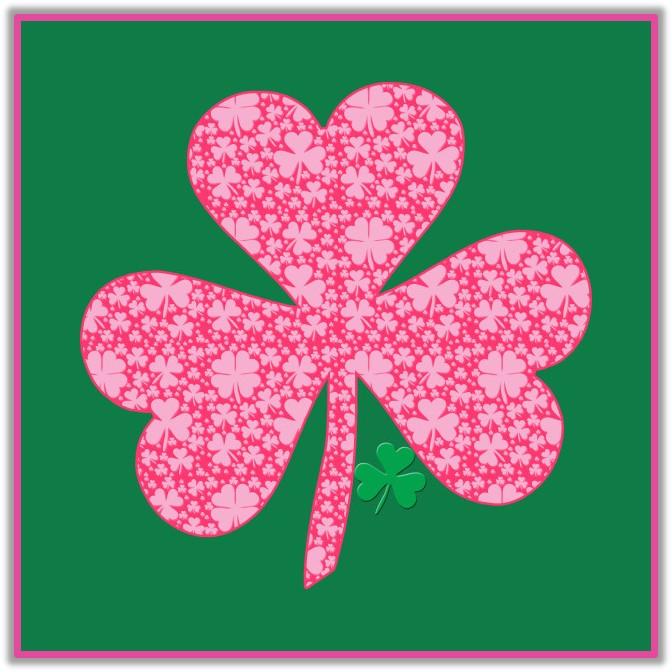 Pink St. Patrick's Day