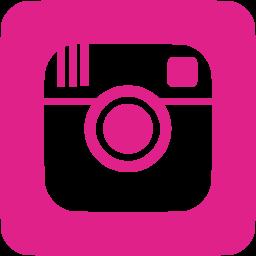 pink Instagram icon - no background