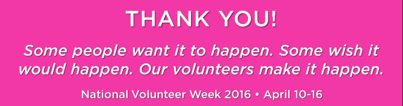 national volunteer week 2016