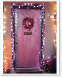 Dress up your door contest. Make breast cancer awareness ... & Susan G. Komen® - Go Pink