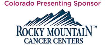 Thank You to Our Colorado Presenting Sponsor, Rocky Mountain Cancer Centers