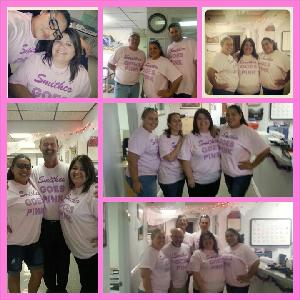 Team Smithco Goes Pink 2013 pic