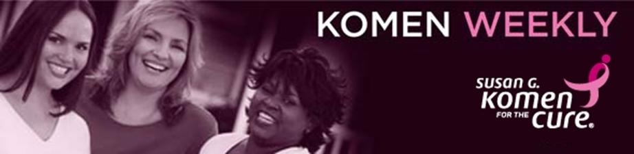 Komen Weekly Banner